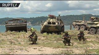 Под прикрытием «Аллигаторов»: российский десант провёл учения в Абхазии при поддержке с воздуха