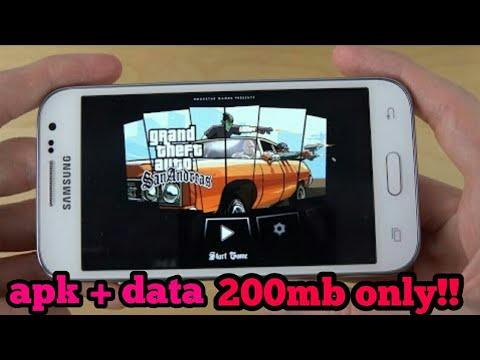 Gta Sa Lite V9 200mb Apk Data Android Mali Download