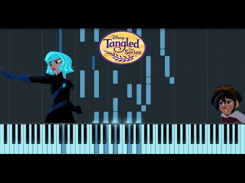 """Synthesia Piano Cover - Tangled: The Series, """"Nothing Left To Lose"""""""