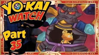 Yo-Kai Watch - Part 35 | Infinite Inferno 6th Circle - Spooklunk Boss! [English Walkthrough]