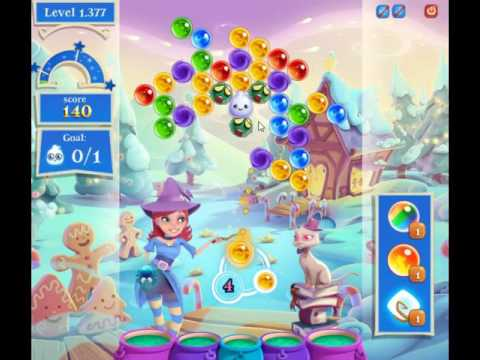 Bubble Witch Saga 2 Level 1377 - NO BOOSTERS