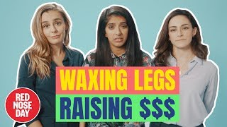 How women really feel about waxing | Comic Relief