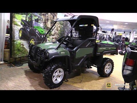 2016 John Deere Gator 855D Diesel - Walkaround - 2015 Toronto Snowmobile & ATV Show