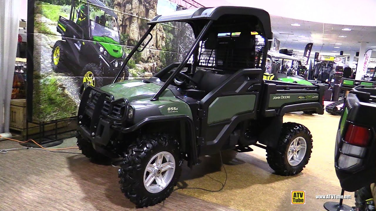 2016 john deere gator 855d diesel walkaround 2015. Black Bedroom Furniture Sets. Home Design Ideas