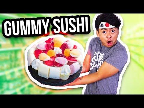 THE WORLD'S BIGGEST GUMMY SUSHI!