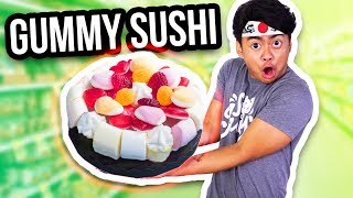 THE WORLD'S BIGGEST GUMMY SUSHI!