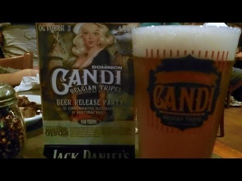 Old Dominion Candi Belgian Triple (9.5% ABV) Release Party DJs BerwTube ON LOCATION Beer Review #390