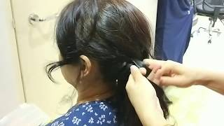 How to do a step by step side braid style