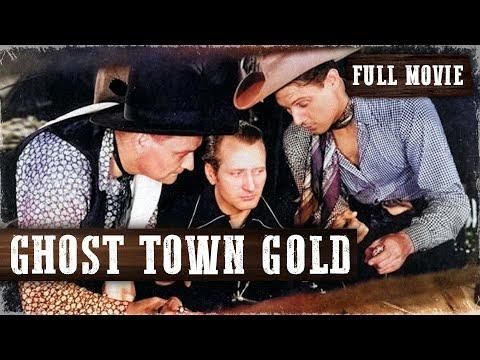 GHOST TOWN GOLD | Robert Livingston | Full Length Western Movie | English | HD | 720p