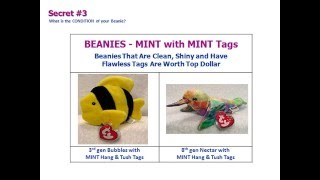 3 Secrets Revealedin Determining What Your Beanie Baby is Worth