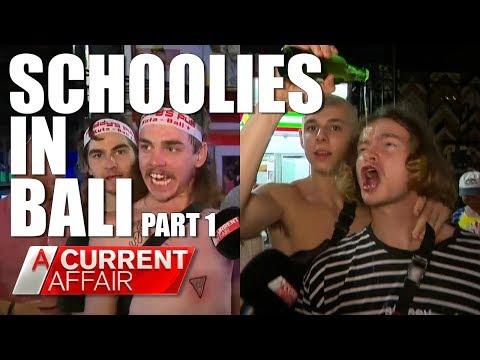 Schoolies in Bali: Part 1 | A Current Affair Australia thumbnail