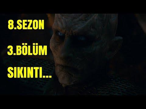 Game Of Thrones 8.Sezon 3.Bölüm Canlı İnceleme