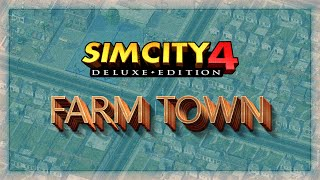 SimCity 4 - How to create a simple Farm Town