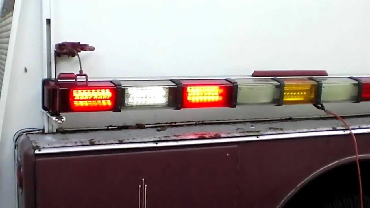 Whelen 86 led 4500 series flush mount light bar youtube aloadofball Choice Image