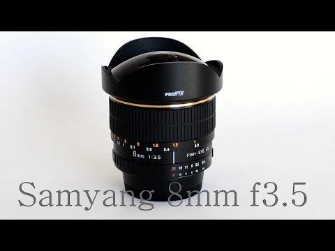 8mm F3.5 Samyang Fisheye Review For Nikon D5200 1080p