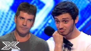"""""""You've got a good voice, my problem is you"""" - SIMON COWELL Questions Contestant 