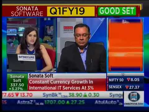 Sonata Software's CFO, Prasanna Oke interviewed by CNBC TV 18