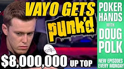 Poker Hands - Gordon Vayo Gets PUNKED By Qui Nguyen In The 2016 WSOP Main Event