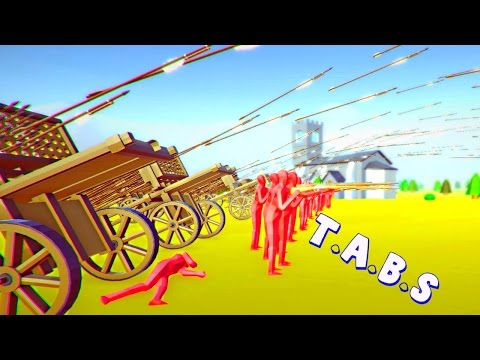 500 PEASANTS FIGHT MUSKET, HWACHA UPDATE   Totally Accurate Battle Simulator Gameplay ( TABS )