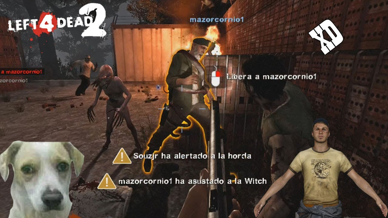 Left 4 Dead 2 cuando jugábamos en el cyber 😎-- JULINWORLD 15