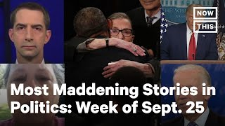 Top 5 Politics Stories, Week of September 20-25, 2020 | NowThis