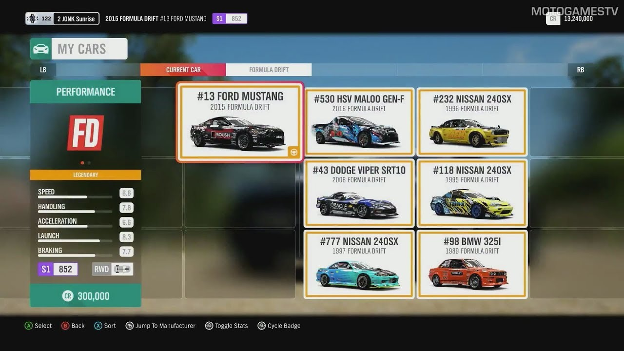 forza horizon 4 formula drift car pack preview youtube. Black Bedroom Furniture Sets. Home Design Ideas