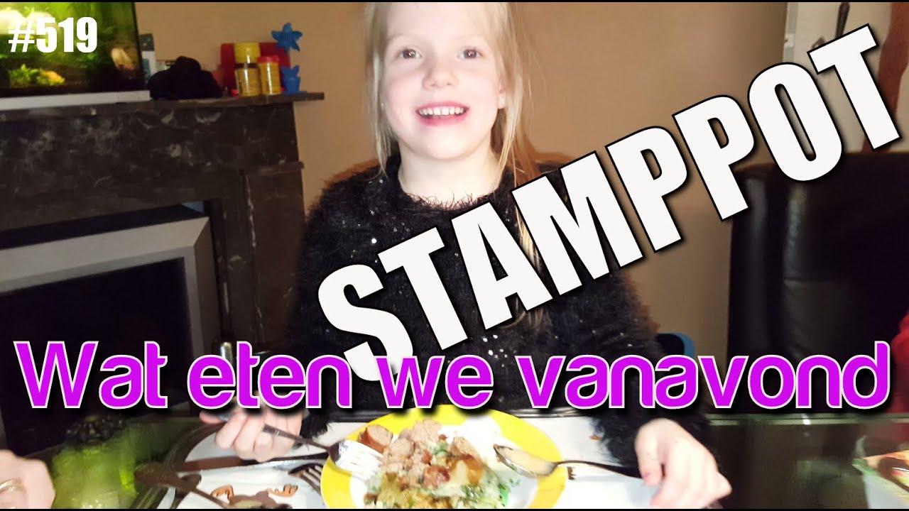wat eten we vandaag stamppot