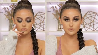 Easy Cool Toned Fall Sculpted Makeup Tutorial