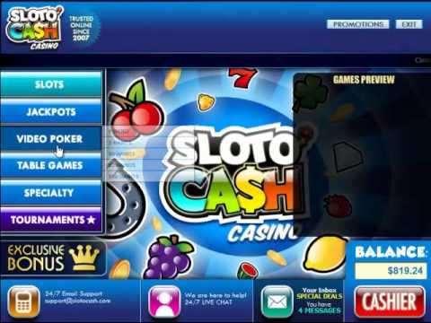 Slotocash Casino Instant Play