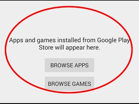 How to fix Google play store app not showing Error