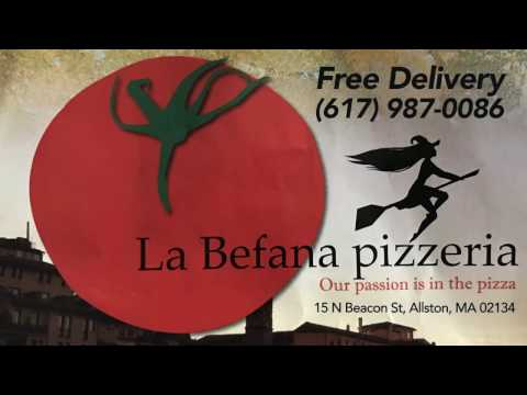 Pizza Dough Made Fresh Every Day at LaBefana Pizzeria in Allston MA
