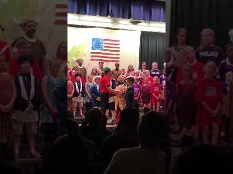 Wilde Elementary School, 13 colonies