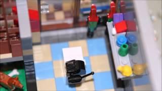 Lego Pet Shop Stop Motion Build 10218 - Hd