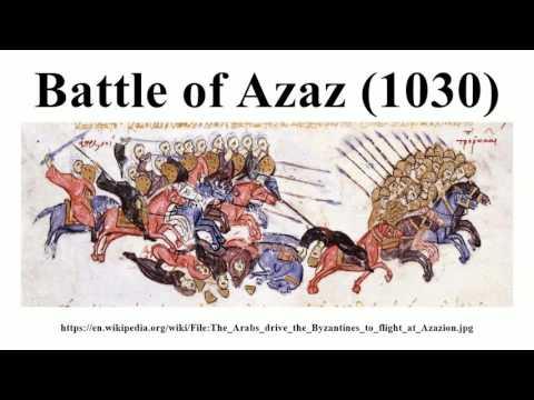 Battle of Azaz (1030)