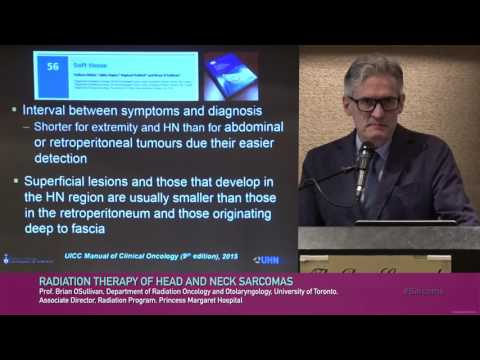Prof. Brian Osullivan   Radiation Therapy of Head ans Neck Sarcomas