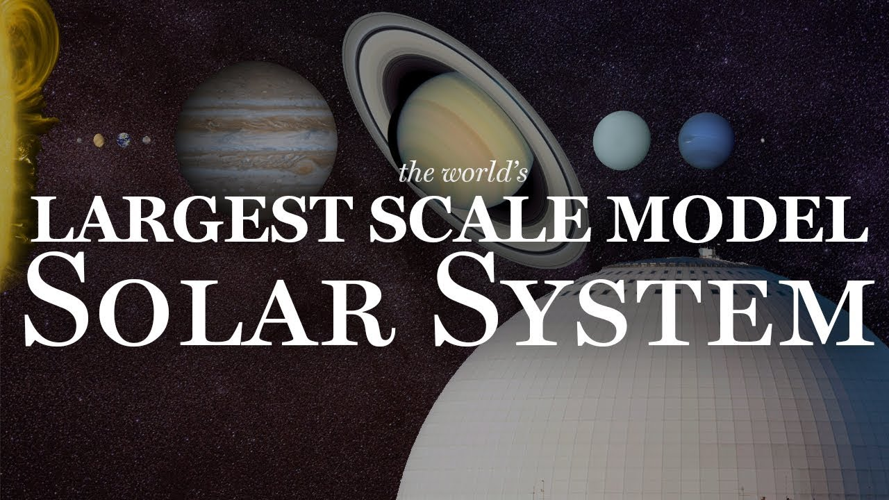 The Largest Scale Model Solar System in the World!