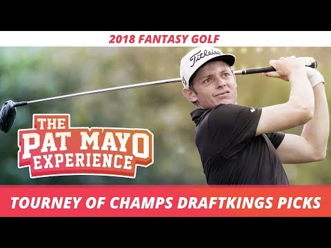 2017 Fantasy Golf Picks – Sentry Tournament of Champions DraftKings Picks, Sleepers and Preview
