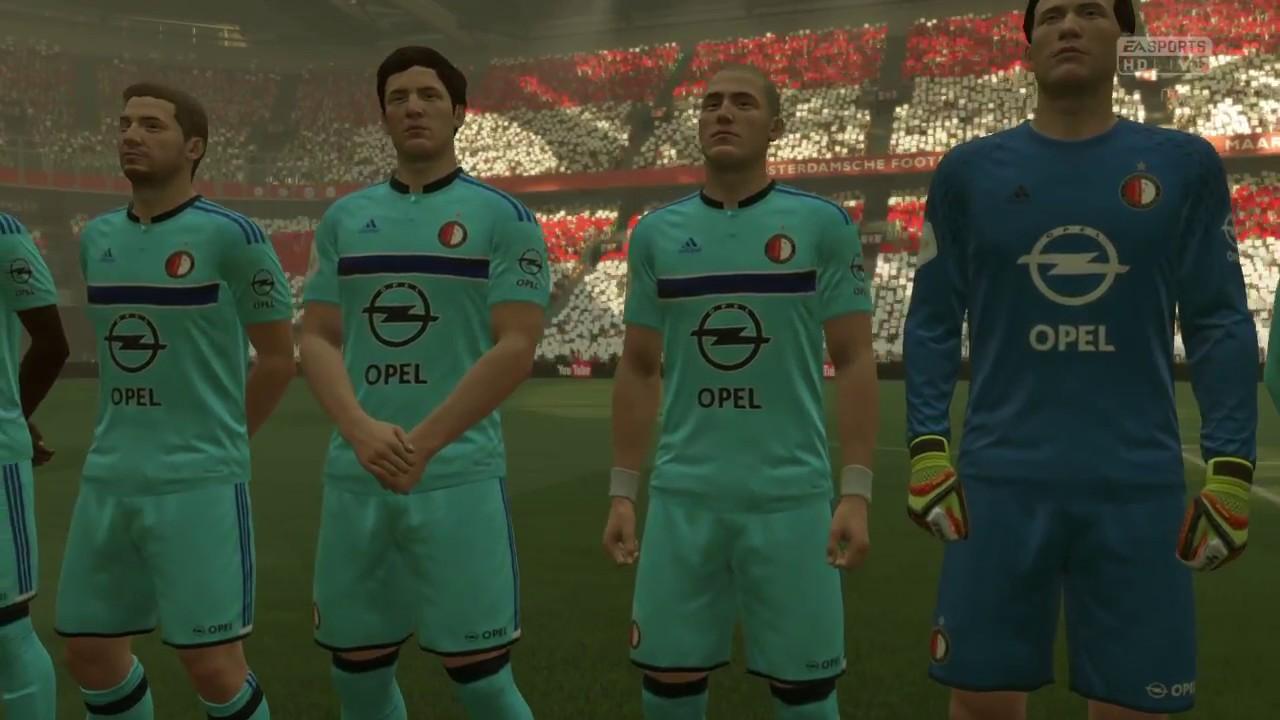FIFA 17 - Ajax vs Feyenoord | Eredivisie @ Full Gameplay ...