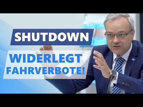 Shutdown widerlegt Fahrverbote!