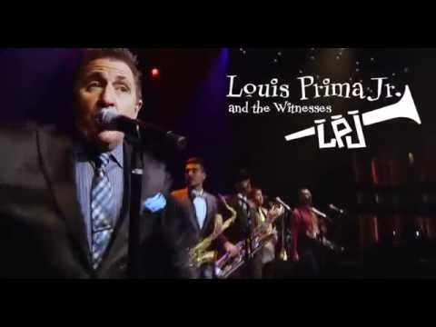 Warrior Records /Universal Music recording artist Louis Prima Jr and the Witnesses
