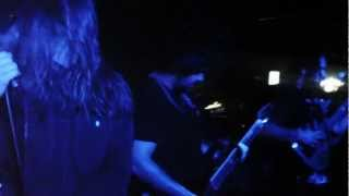 TURNED TO STONE - Falling Snow (Agalloch Cover) @ Gino's 12/22/2012