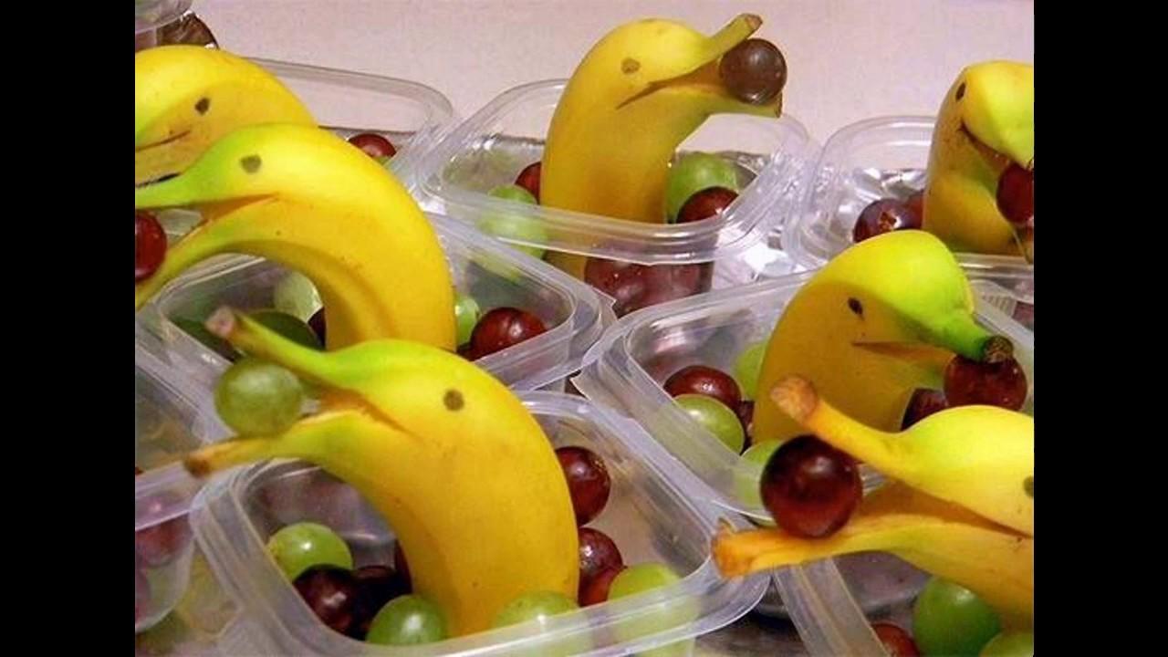 Easy fruit decoration ideas for kids - YouTube