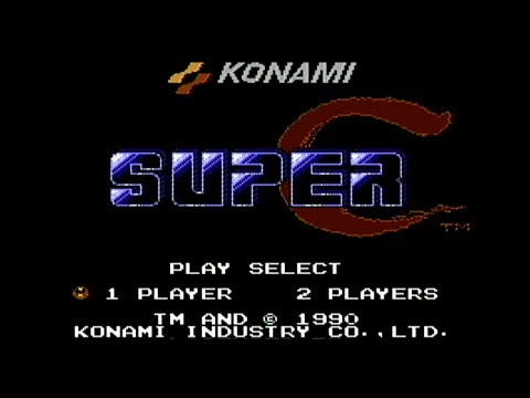 Super C - NES Gameplay