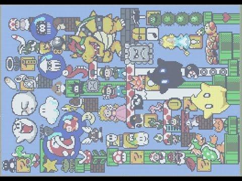 Pixel art vid o n 21 tableau personnages mario les zinzins de l 39 espace etc youtube - Les zinzin de l espace ...
