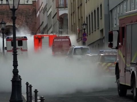 Raw: Thick Clouds of CO2 Blanket German City