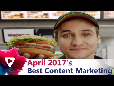 Best Content Marketing Examples - April 2017
