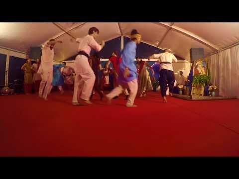 """Radha Kaise Na Jale"" Lagaan, dance cover (New Year Seminar Germany 2018)"