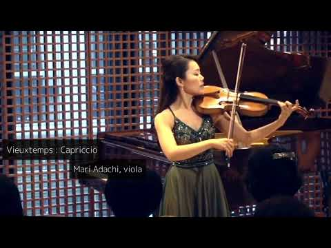 Vieuxtemps : Capriccio for solo viola, op.55