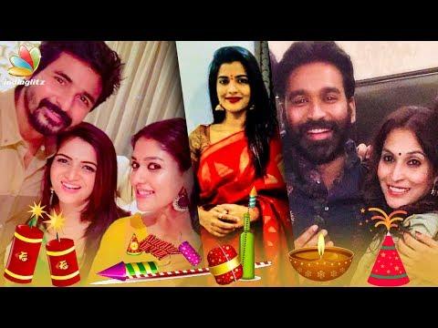 Vignesh Shivan, Nayanthara & Dhanush's Diwali Party