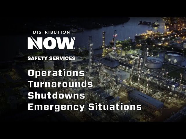 Safety Services & Turnaround Support | DistributionNOW